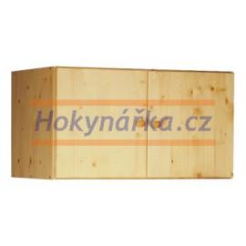 Nástavec 91 dřevěný lakovaný masiv smrk