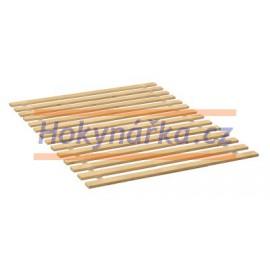 Rošt 200x160 cm dřevěný masiv smrk