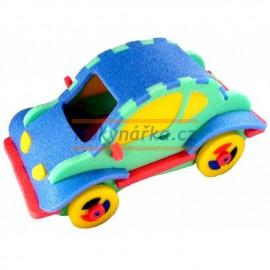 3D autíčko pěnové puzzle