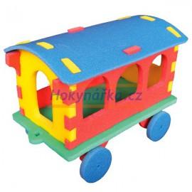 3D vagón pěnové puzzle