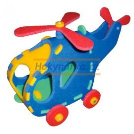 3D vrtulník pěnové puzzle