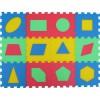 Pěnový koberec geometrické tvary mix 4 barev 8mm