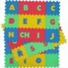Pěnový koberec písmena 36 mix 4 barev 8mm