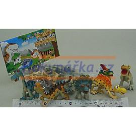 Sada Dinosauři gumoví - zvířátka Dinosaurus