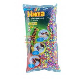 Hama Korálky barevné - 6.000 ks MIDI