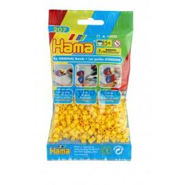 Hama Žluté korálky