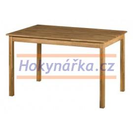 Jídelní stůl 120 dřevěný masiv dub mořený