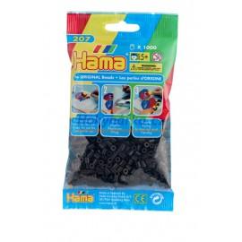 Hama Černé korálky