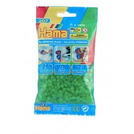 Hama Neonové zelené korálky