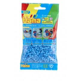 Hama Pastelově modré korálky