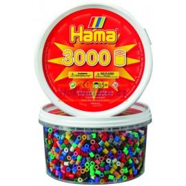 Hama Korálky v tubě - MIX 3.000 ks