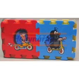 Pěnový koberec puzzle KRTEČEK - pěnové puzzle