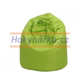 SEDACÍ VAK ve tvaru hrušky zelený Standard kuličkový 75x110 Sedací vaky
