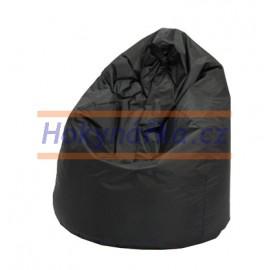 SEDACÍ VAK ve tvaru hrušky černý Standard kuličkový 75x110 Sedací vaky