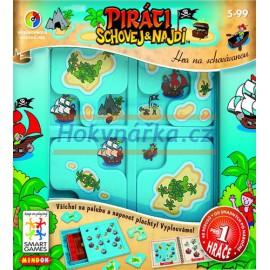 Hra logická Smart - Piráti - schovej a najdi pro 1 hráče MINDOK