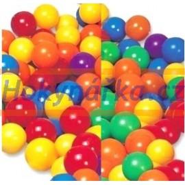 Míčky do bazénu 6,5cm 100ks plastové v tašce INTEX balónky do hracích koutů