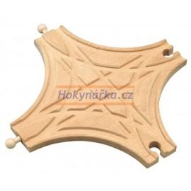 Maxim dřevěná mašinka křižovatka