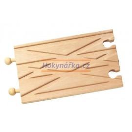 Maxim dřevěná mašinka křížení tratí