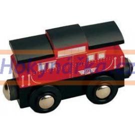 Maxim dřevěná mašinka poštovní vagón