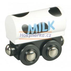 Maxim dřevěná mašinka Vagón na mléko