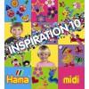 Hama zažehlovací korálky Inspirativní knížka 10 - MIDI