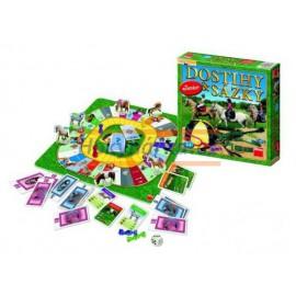 Hra Dostihy a sázky JUNIOR pro děti DINO