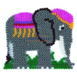 Hama zažehlovací Podložka Slon pro korálky MIDI