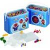 Hama zažehlovací korálky v boxu Mix 2 - 3.000 ks + 3 podložky - MAXI