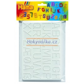 Hama Podložky /abeceda,číslice/