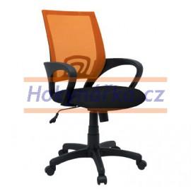 Kancelářská židle TND oranžová