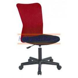 Kancelářská židle MNC červená