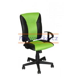 Kancelářská židle KNG zelená