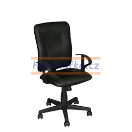 Kancelářská židle KNG černá houpací