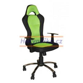 Kancelářská židle CZR houpací zelená