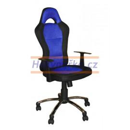 Kancelářská židle CZR houpací modrá
