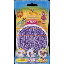 Hama zažehlovací Pastelově fialové korálky 1000ks MIDI