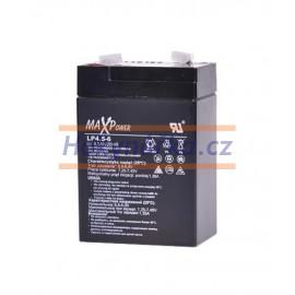 Baterie akumulátor 6V/4Ah