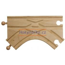 Maxim dřevěná mašinka K výhybka