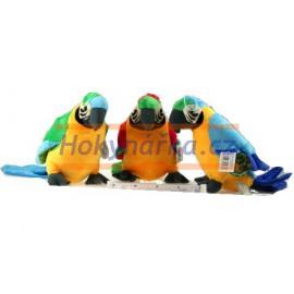 Plyšový Papoušek 27cm