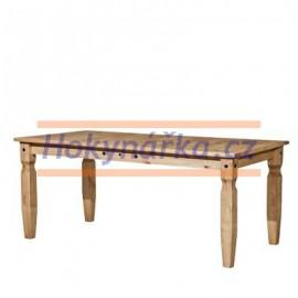 Jídelní stůl Corona vosk masiv borovice