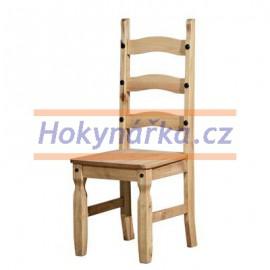 Jídelní židle Corona vosk masiv borovice
