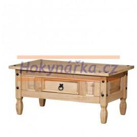 Konferenční stolek Corona vosk masiv borovice