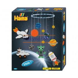 Hama dárková sada Vesmír zažehlovací korálky MIDI