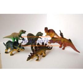Dinosauři gumoví 6ks