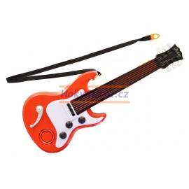 Dětská elektrická kytara na baterie