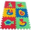Pěnový koberec MAXI 6 zvířata 1 mix 4 barev 8mm