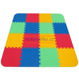 Pěnový koberec OPTIMAL 16 mix 4 barev 8mm