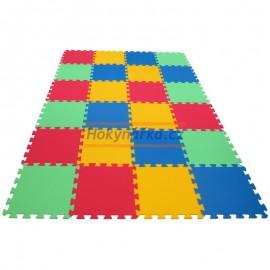 Pěnový koberec MAXI 24 pevný 16mm mix 4 barev