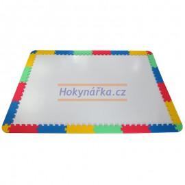 Pěnový koberec zakončení okraje MAXI 24 mix 4 barev 16mm pevný