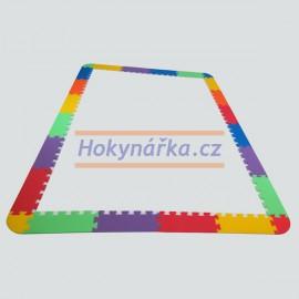 Pěnový koberec zakončení okraje MAXI 24 mix 6 barev 8mm